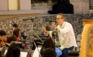 Garry Schyman Conducting the YMF Orchestra 9.25.13