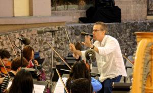 Garry Schyman Conducting the YMF Orchestra 9.25.13
